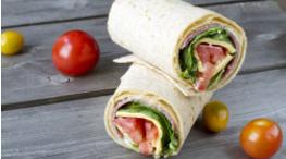 Vegemite Ham &Salad Pita Pockets