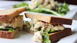 Deconstructed Tuna Sandwich