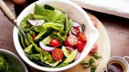 Egg, Cos & Tomato Salad