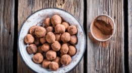 Dark Chocolate & Avocado Truffles