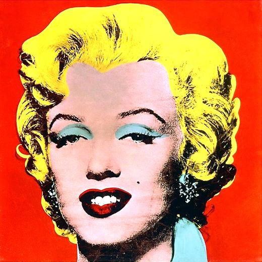A ndy Warhol  Marilyn,  1962