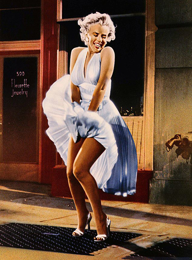 Billy Wilder,  The Seven Year Itch,  Colorized Publicity Still, 20th Century Fox, 1955