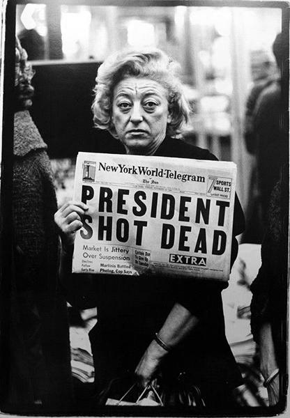 Richard Avedon , Times Square, New York City, November 22, 1963