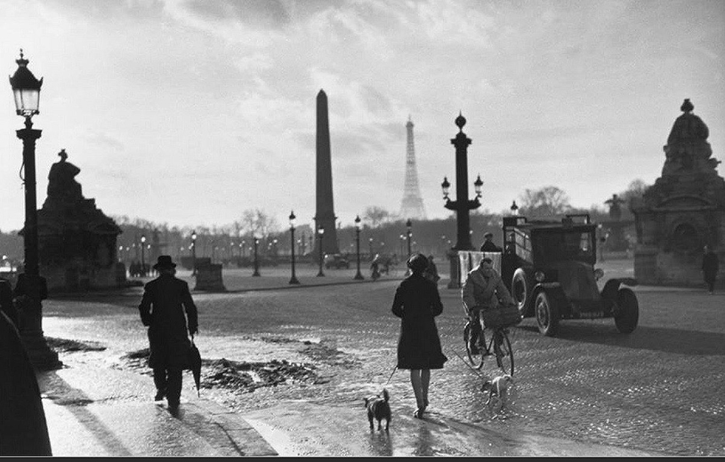 Henri Cartier-Bresson  Place de la Concorde  1952