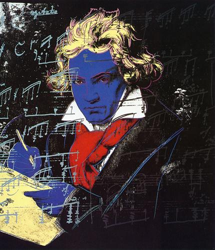 Andy Warhol,  Ludwig van Beethoven