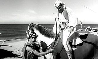 Shooting a photo-novel in  The White Sheik