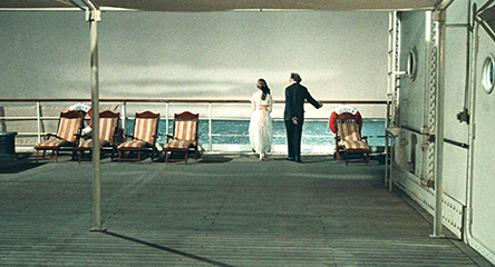 The set as primary player in  And the Ship Sails On
