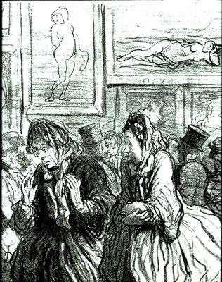 This Year Venuses Again! 1864 Honoré Daumier