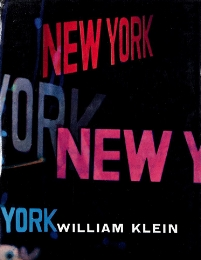 Cover to  Life is Good and Good for You in New York  by William Klein