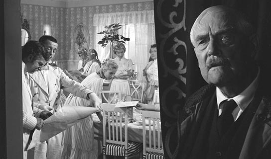 Wild Strawberries  Ingmar Bergman - The past and the the present occupy the same space.
