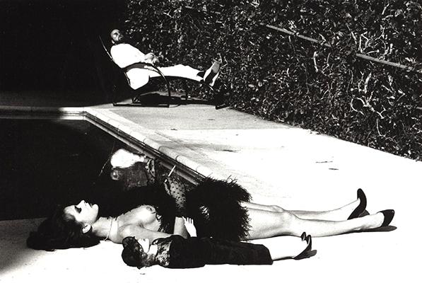 Nastassia Kinski and James Toback  Hewlmut Newton