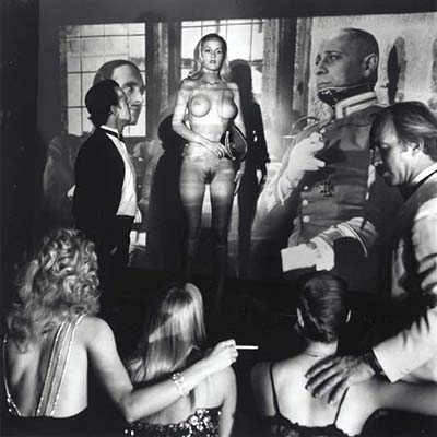 Playboy Mansion Projection Room 1986  Helmut Newton