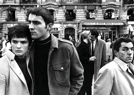 William Klein,  Paris 1967  Klein's radical open frame seen to full effect.