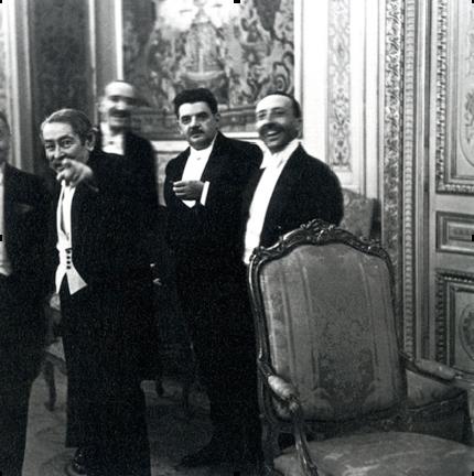 Conference at the Hague , 1930 Erich Salomon