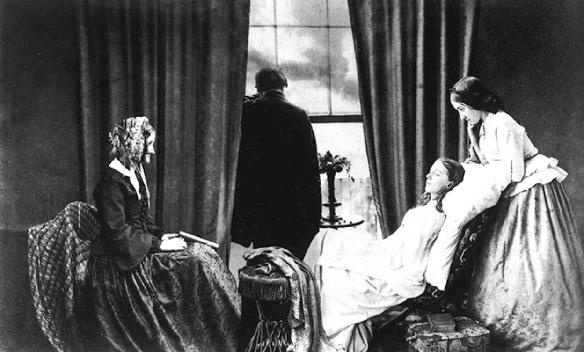 Fading Away , 1858 Henry Peach Robinson