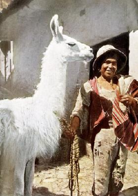 Peru: Homeland to the Warlike Inca , National Geographic Magaine, October, 1950 Photographer: Kip Ross