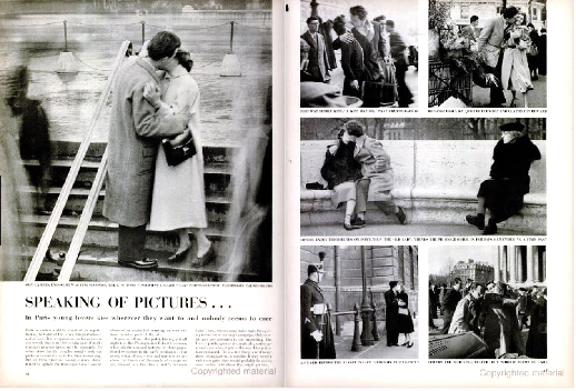 Speaking of Pictures...  for  Life Magazine  June 12, 1950 Photographer: Robert Doisneau