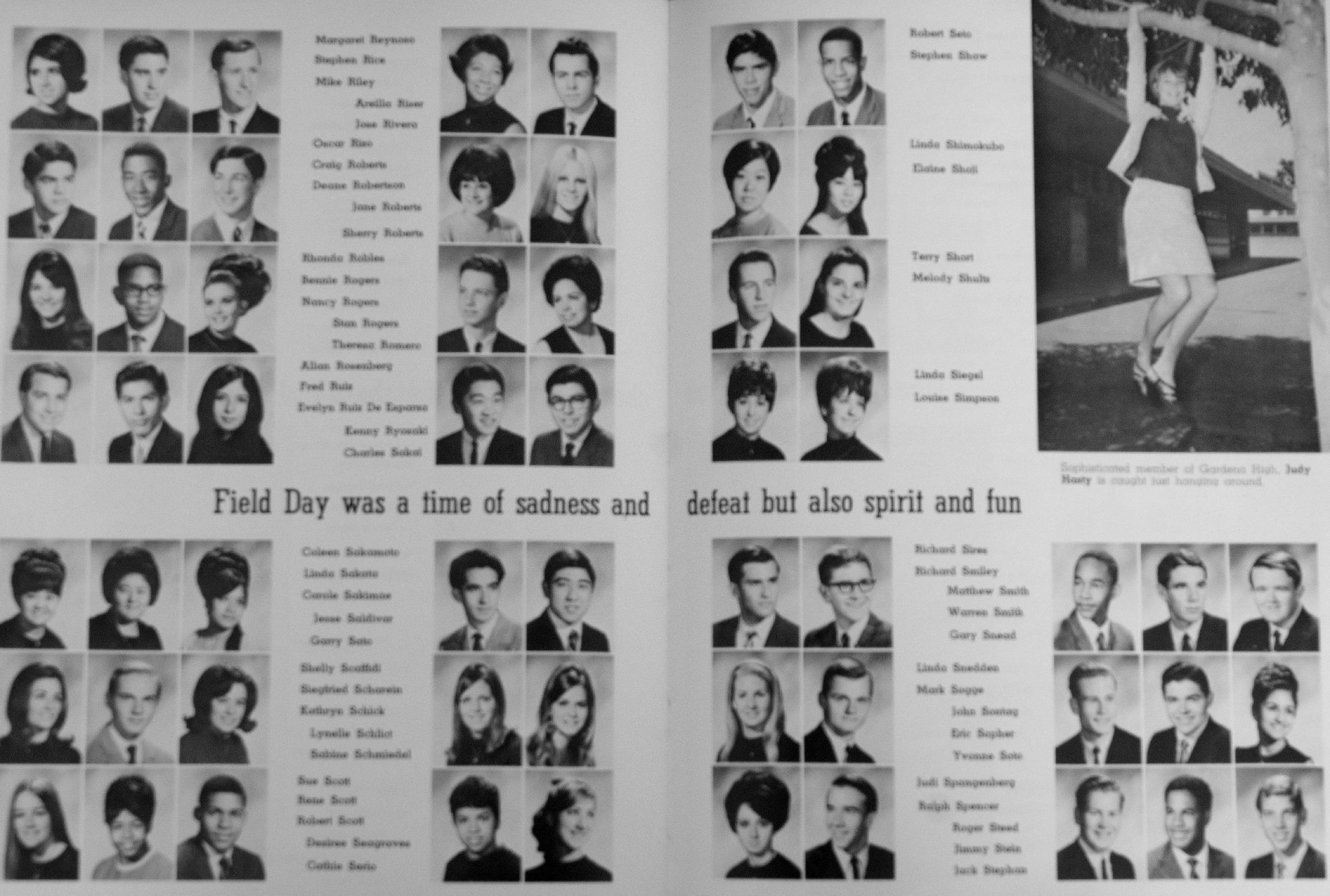 Gardena High School Yearbook 1968