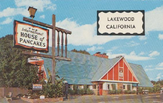 Postcard Lakewood, California