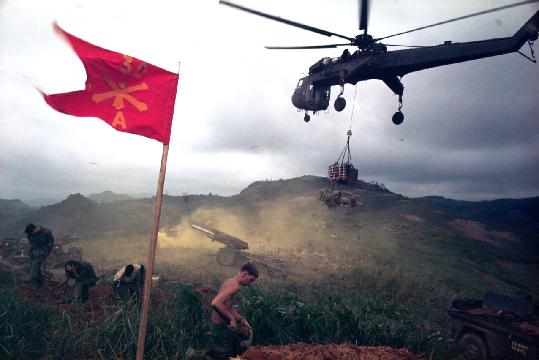 Larry Burrows,  Ammunition Airlift, Khe Sahn, Vietnam  1968