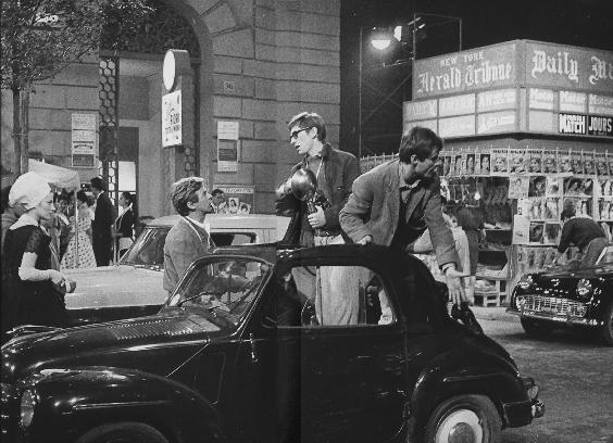 Pierluigi Praturlon,  On the set of La Dolce Vita , 1959