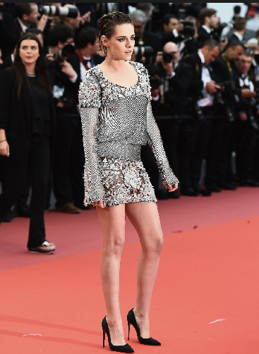 Anonymous photographer,  Kristen Stewart on the red carpet at the Cannes Film Festival  2018