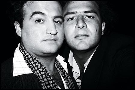 Jean Pigozzi  John Belushi & Jean Pigozzi, 1977