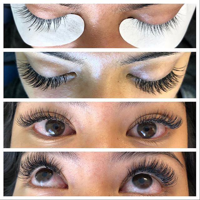 I'm horrible at posting on social media, and I'm even more horrible about getting before and after photos of any work that I do. Well this lovely client reminded me at our last visit and so I was finally able to get a good series of lash extensions! Here is a classic full set using C Curl size 8,10,11,12. #lashextensions #lashes #lashextensionssantacruz #lashextensionsaptos #novalash