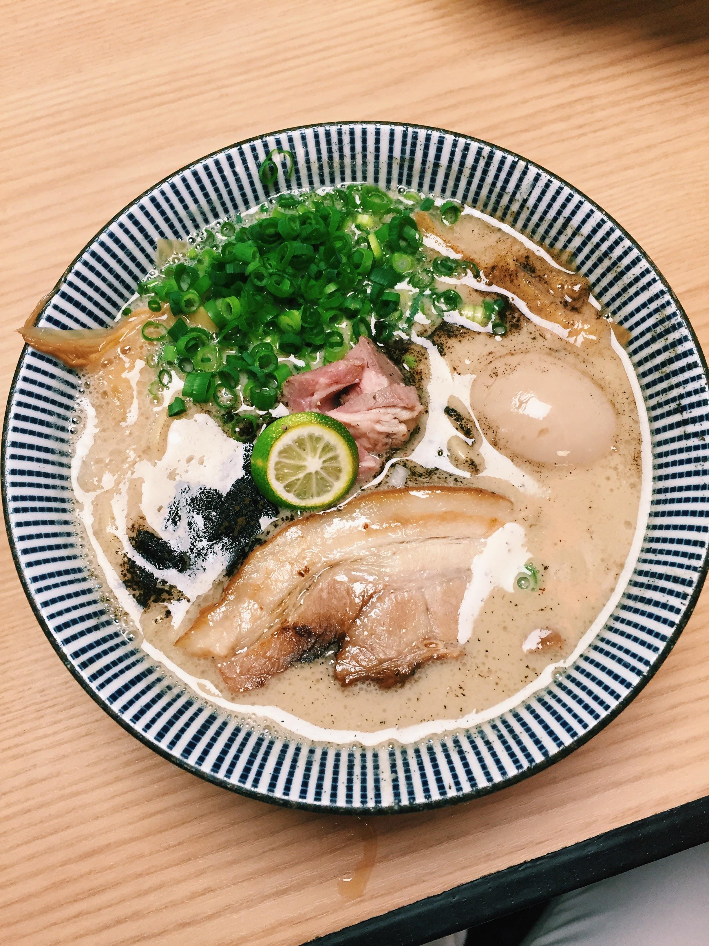 ラム豚骨らーめん - Mensho Tokyo - Tokyo, Japan (Bunkyo-ku location)