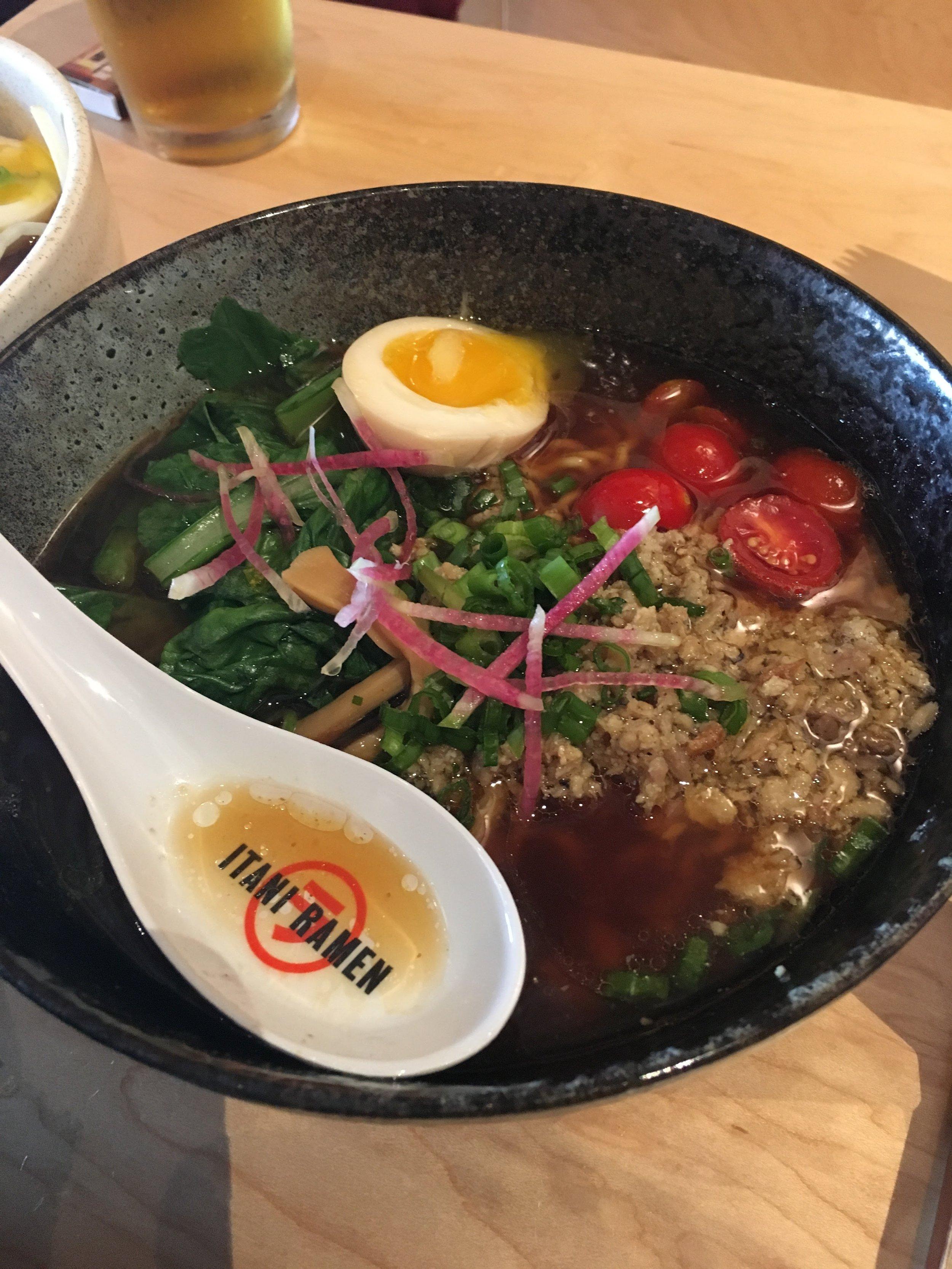 Shoyu Chicken Ramen - Itani Ramen - Oakland, CA