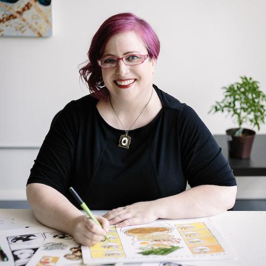 Illustrator Sarah Becan