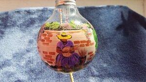 Sweetgrass Basket Ornament