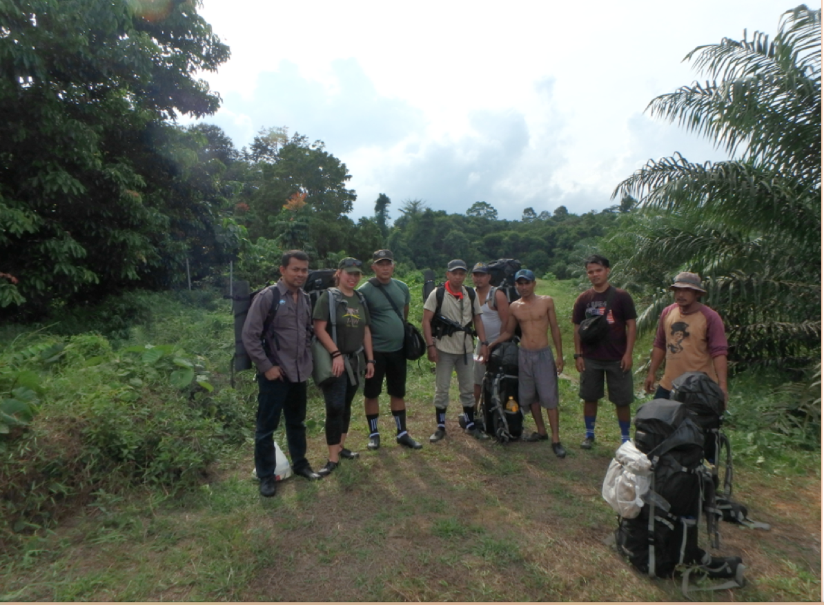 Forest patrol OIC and The Rainforest Project consultant J.Croes(2017)