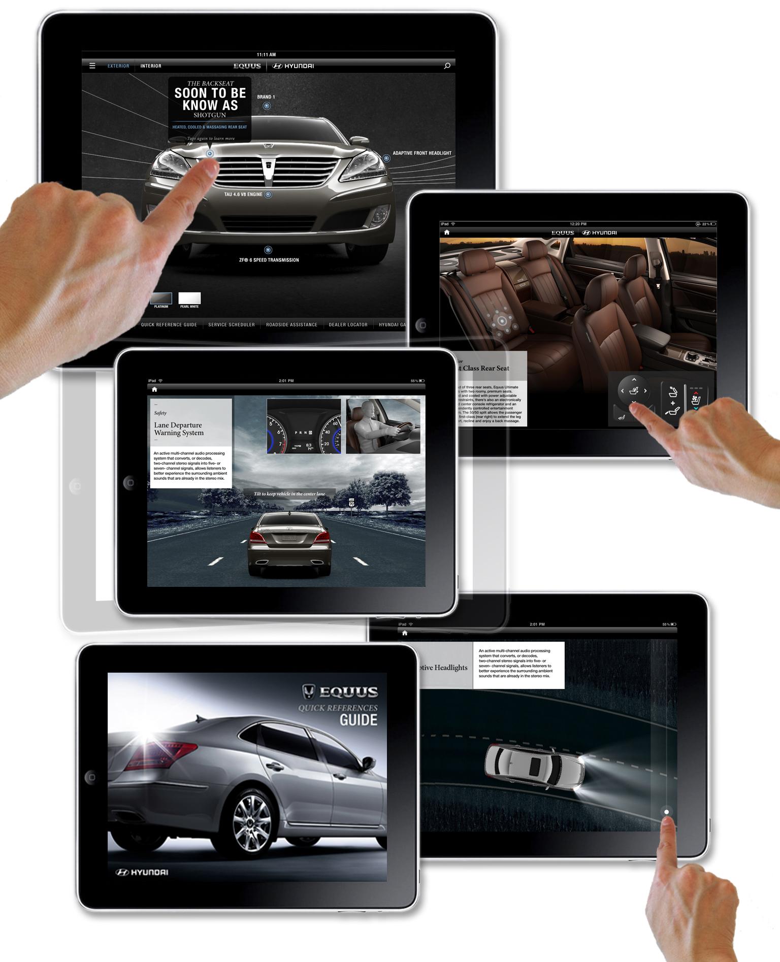 Hyundai Equus iPad Launch