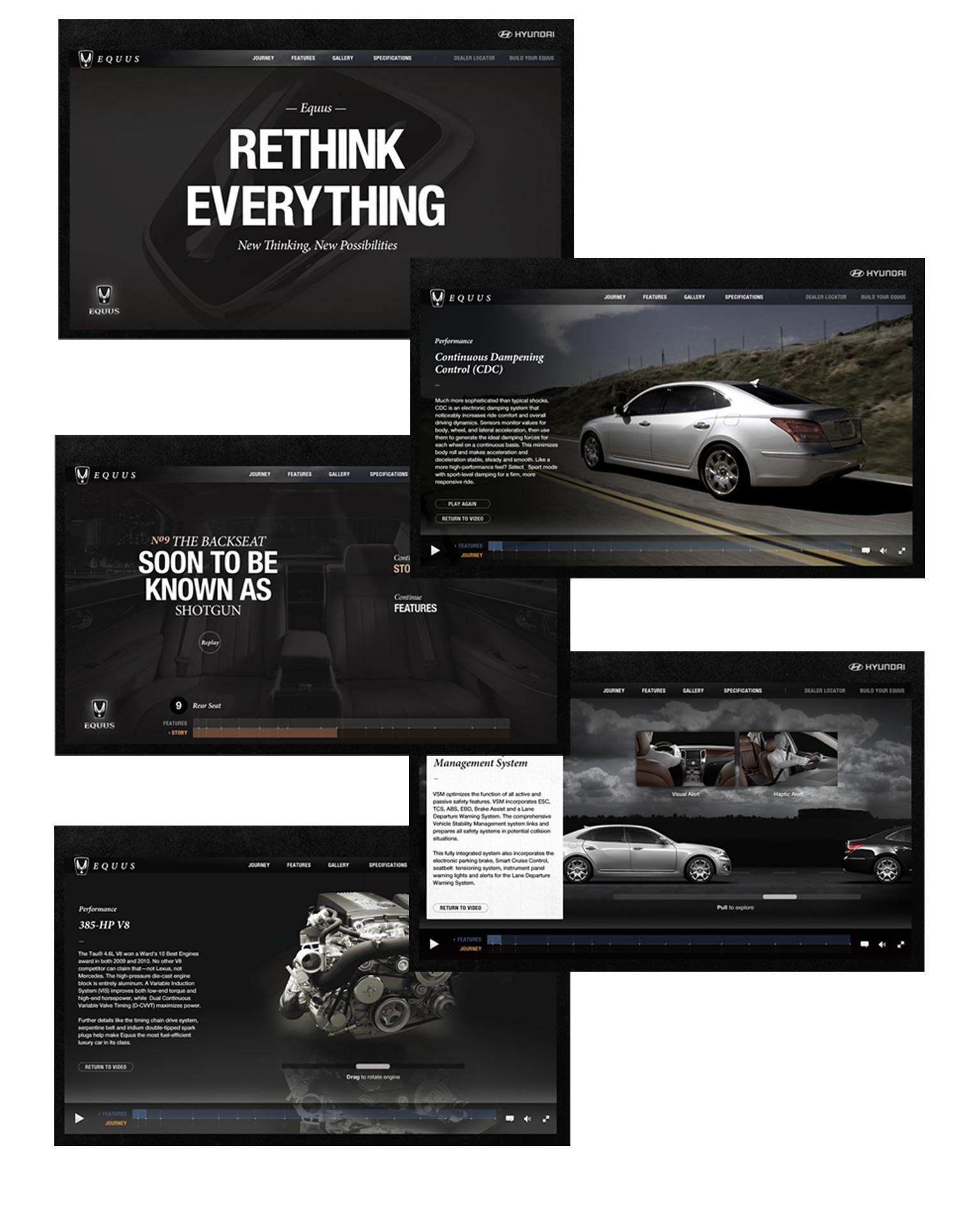 Hyundai Equus Launch Website