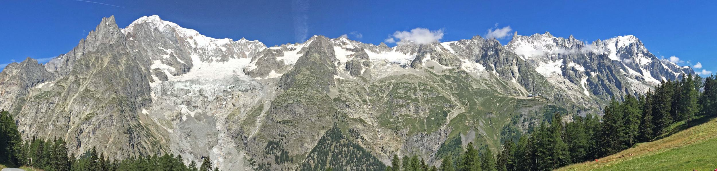 Monte Bianco from Val Veny
