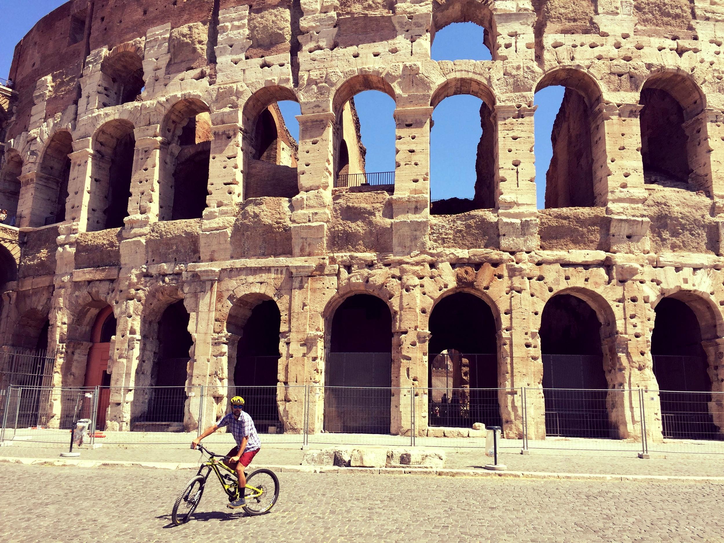 Amphitheatrum Flavium or Colosseum. Finished in AD80.