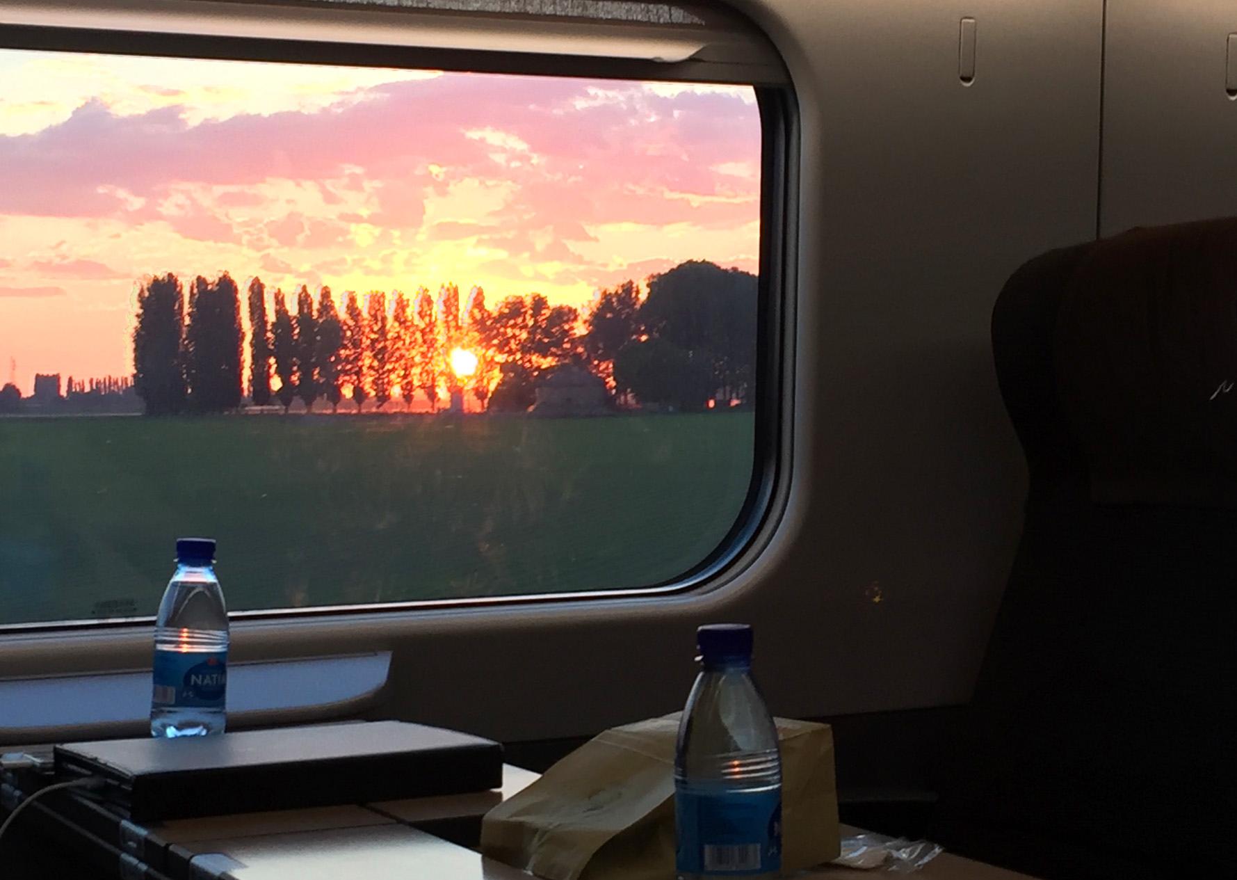 Tuscany sunset                                                                                 Photo: H.H.