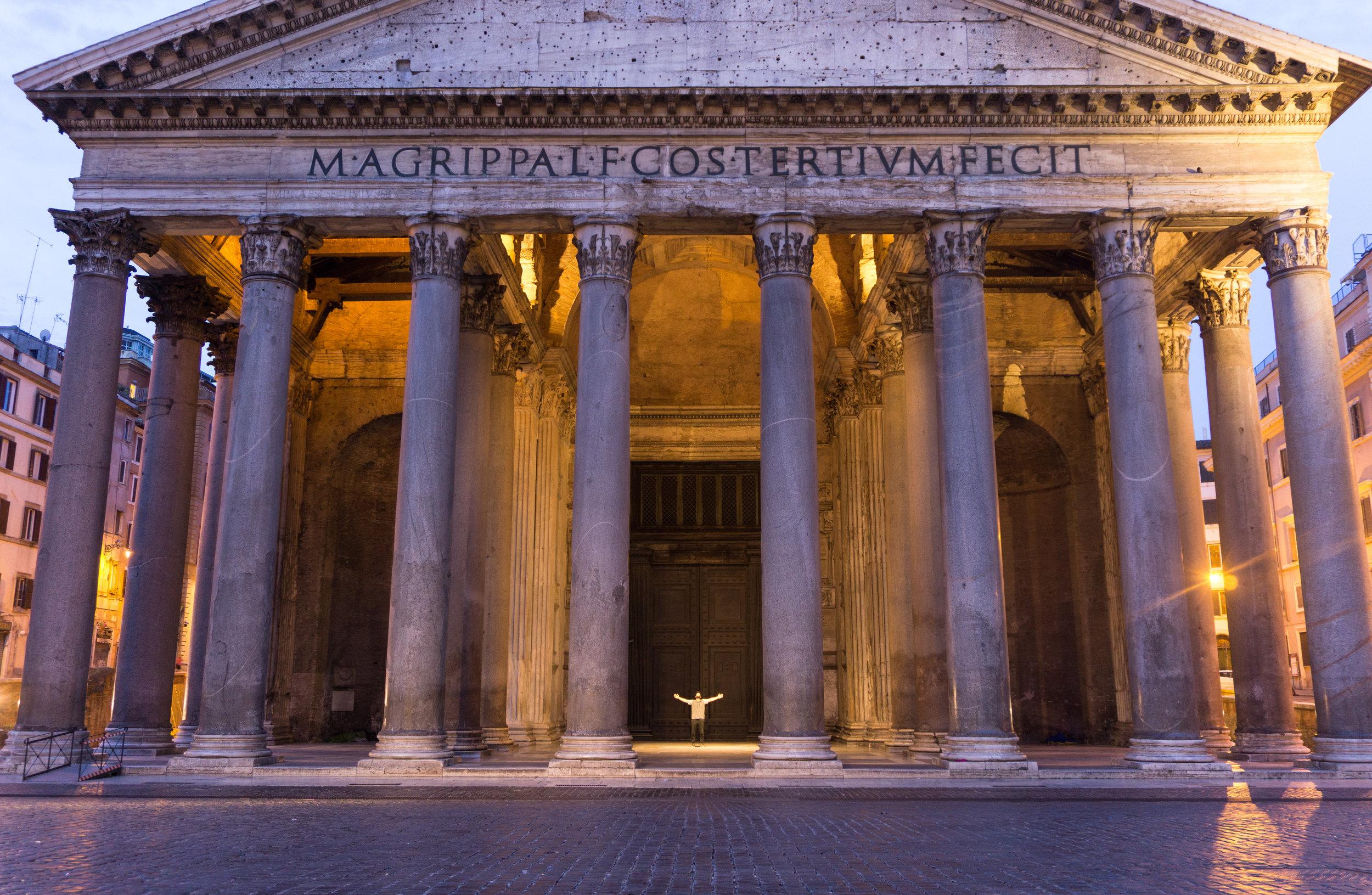 The Pantheon at 0530