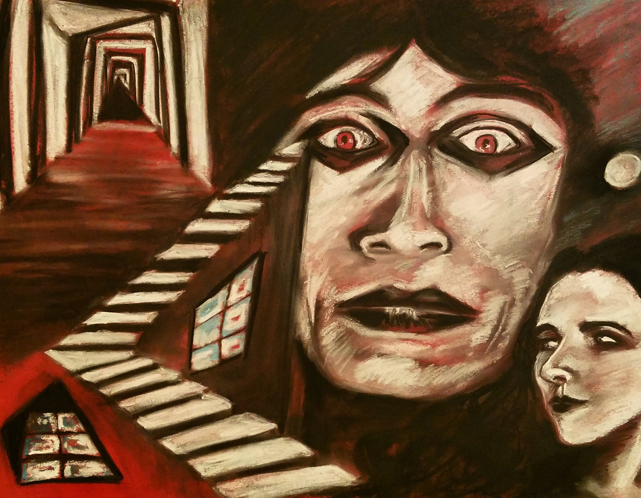 Original artwork by Samantha Buker / 7 Veils Studios, Baltimore