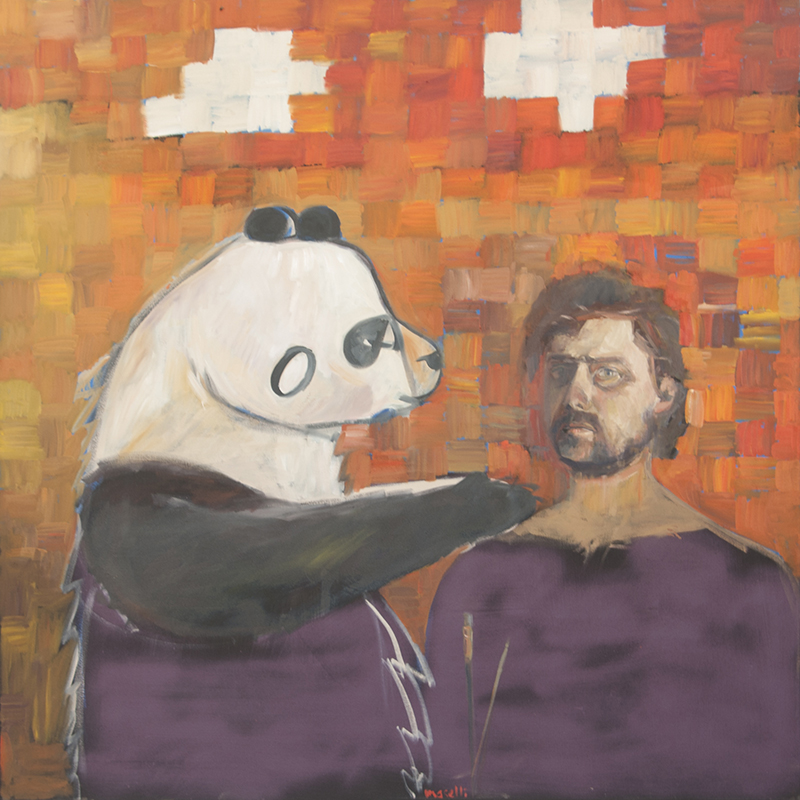 SELF-PORTRAIT WITH DON'T PANDA