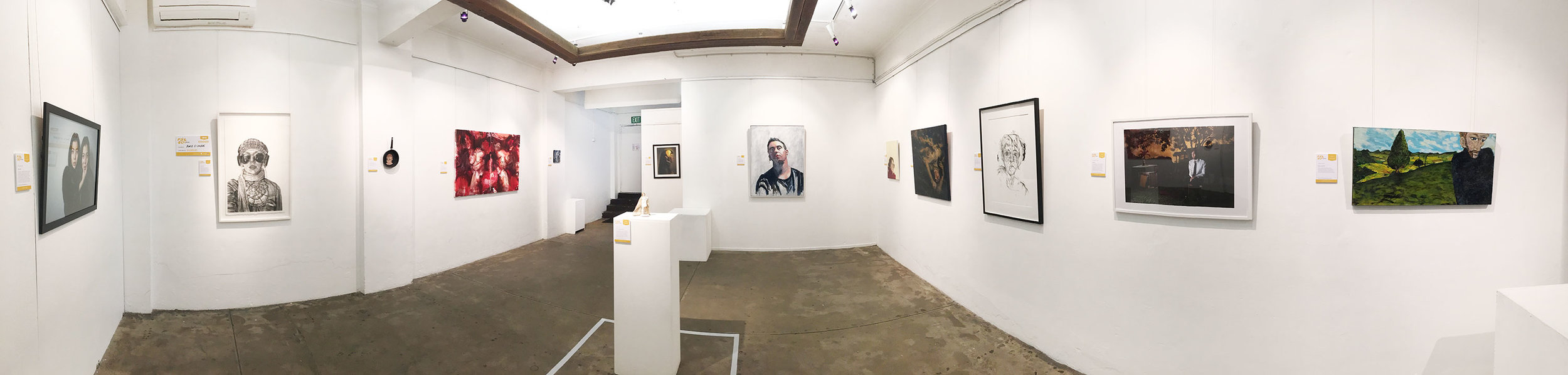 2016 Finalist exhibition held at Jugglers Art Space