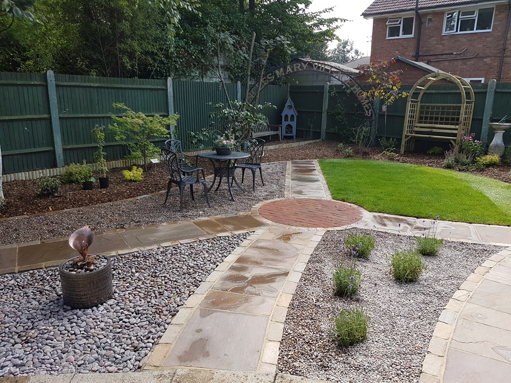 Chertsey Museum's redeveloped garden allows space for families and quiet reflection