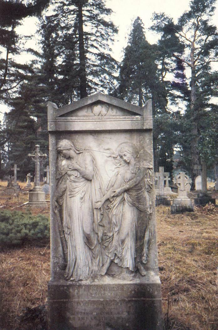Brookwood cemetery – the tomb of William de Morgan