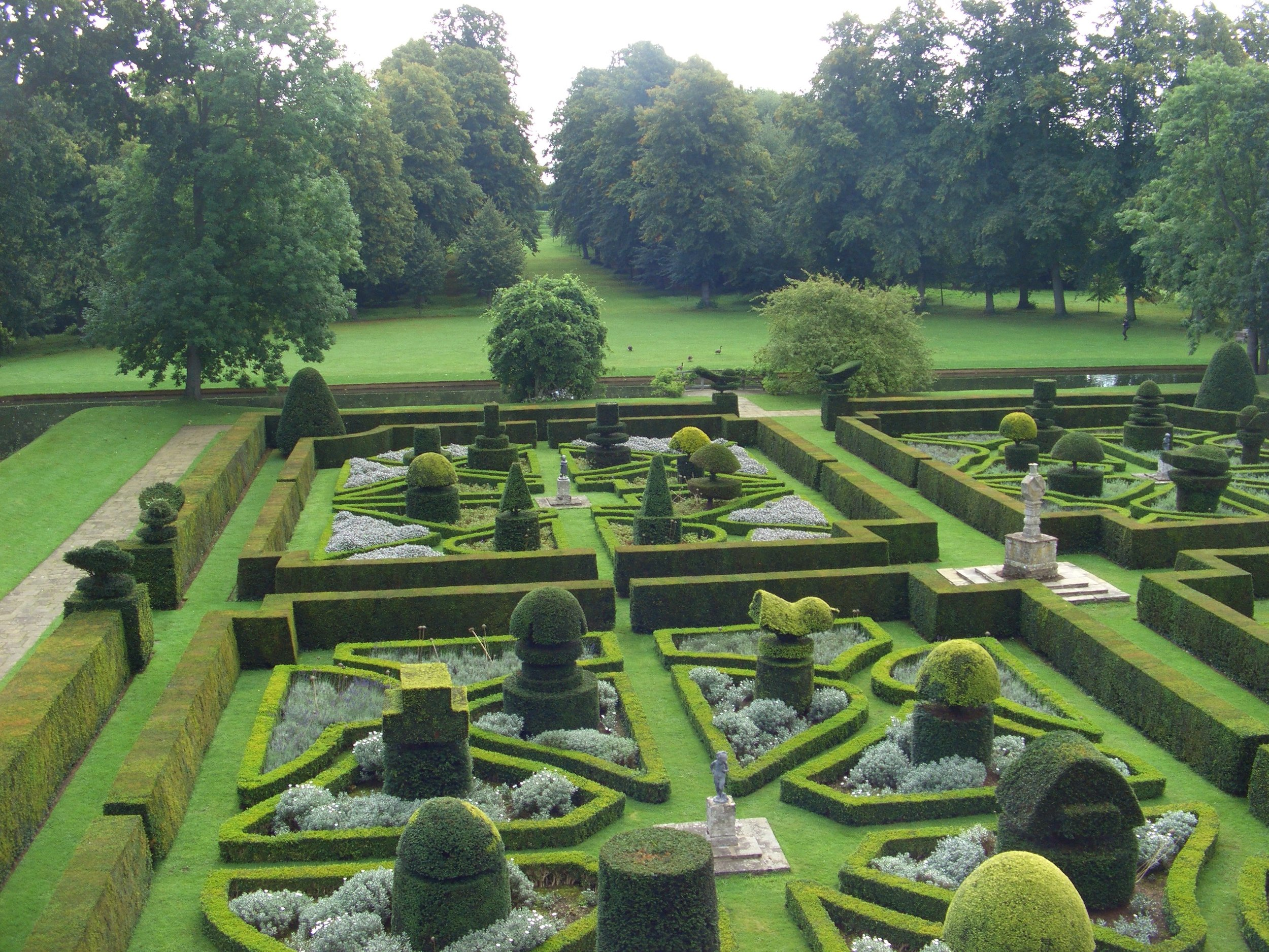 Parterre from above 2007