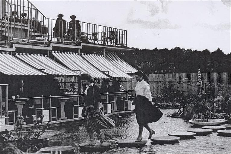 Negotiating the stepping stones 1950s