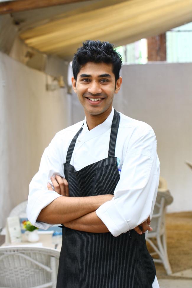 Girish Nayak, Pastry Chef at Olive and Toast & Tonic, Bangalore