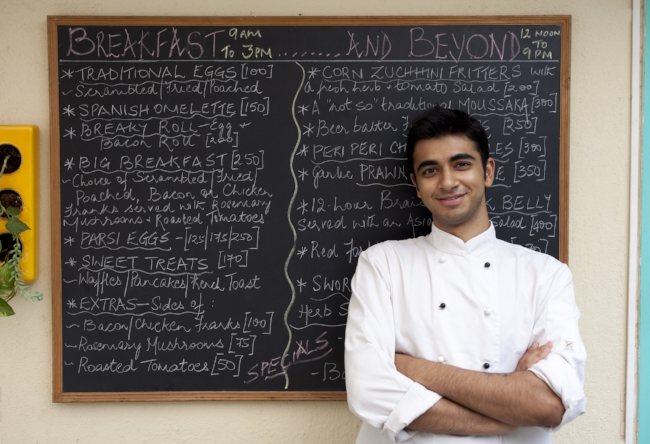 Xerxes Bodhanwala, Chef, Red Fork, Bangalore