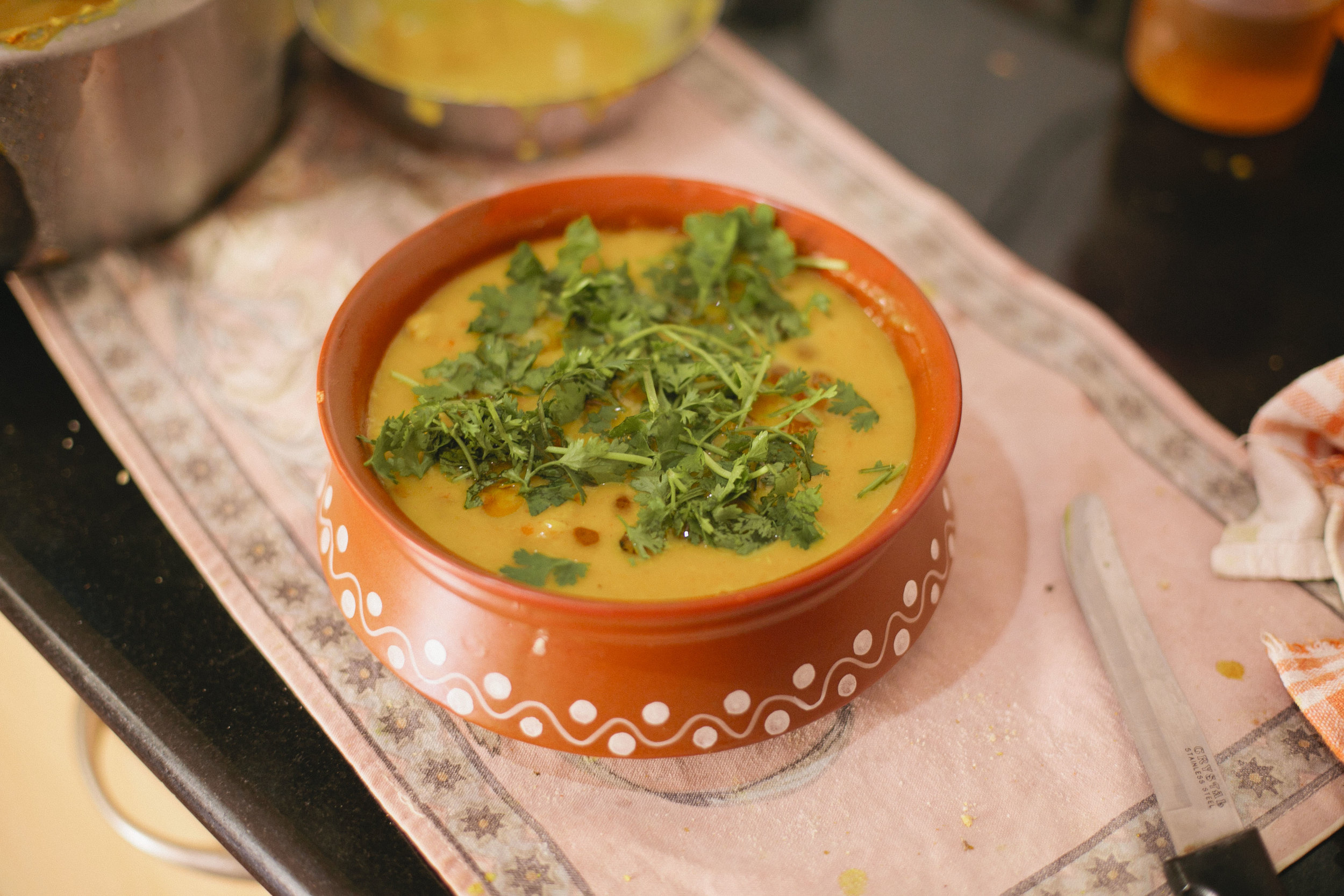 Recipe for a traditional Rajasthani dal dhokli