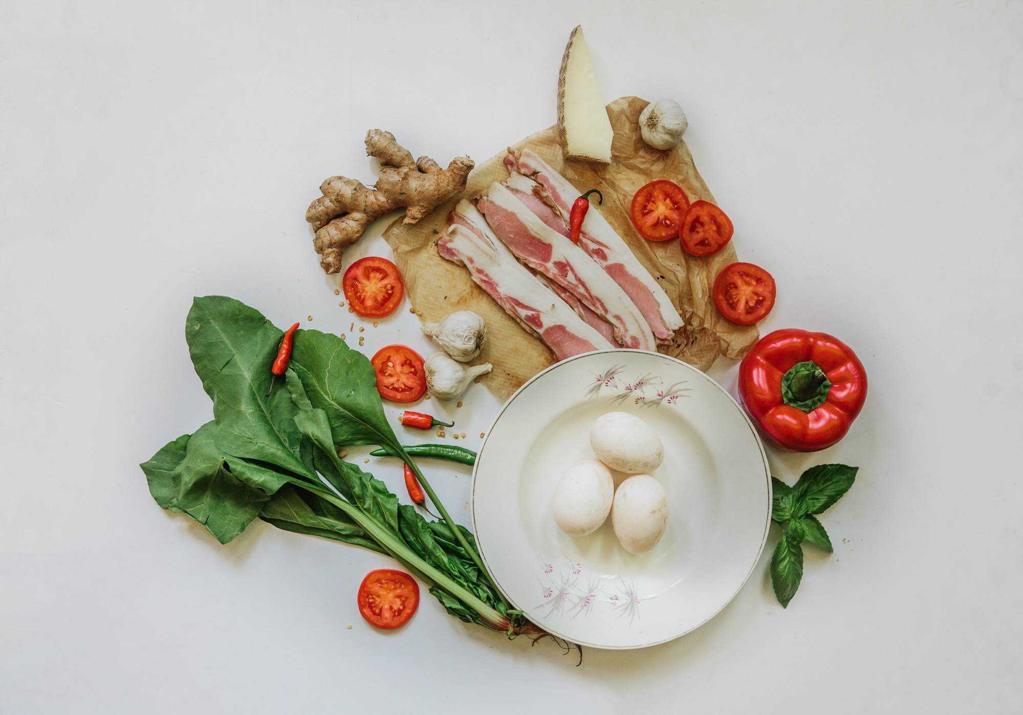 Recipe for Duck eggs in Purgatory | Goya Journal, Mark Swaroop, Soup